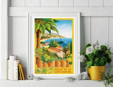 Les Editions Clouet x Bandol Tourisme