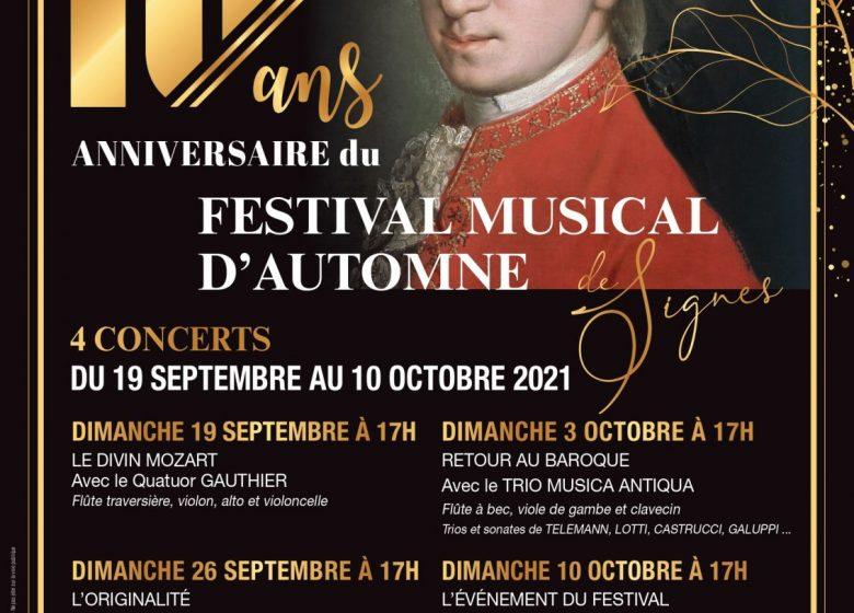 10e Festival Musical d'Autome de Signes