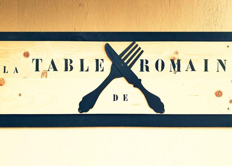 La Table de Romain