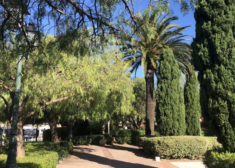 Les jardins de la ville